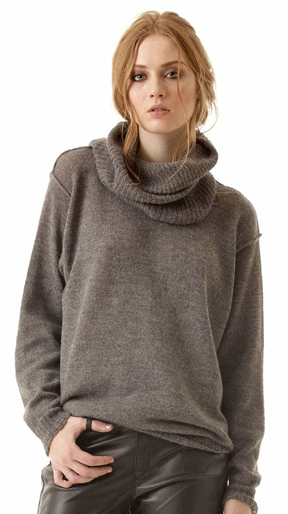damen pullover alpaka